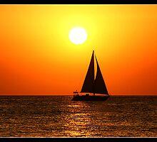 Sunset@Café del Mar 1 by JanRonaldCrans
