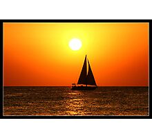 Sunset@Café del Mar 1 Photographic Print