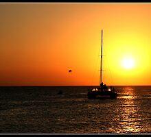 Sunset@Café del Mar 2 by JanRonaldCrans