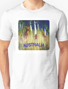 Roos in the Grass  T-Shirt