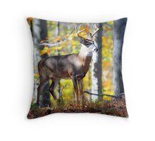 Wildlife in the Backyard Throw Pillow