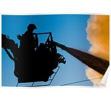 Firefighting Poster