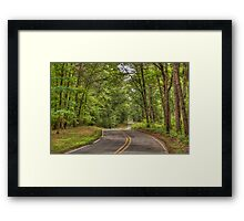 Welcome to Virginia Framed Print