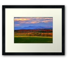 Top 'o the World Framed Print