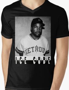Ice Cube Mens V-Neck T-Shirt