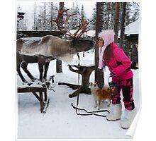 """""""I kissed a reindeer... Poster"""