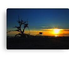 Salton Sea Sunset Canvas Print
