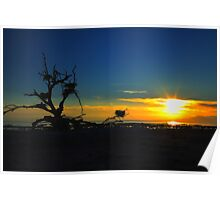Salton Sea Sunset Poster