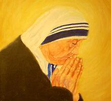 MOTHER THERESA by Dian Bernardo