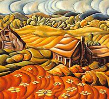 Licking County Landscape by John Entrekin