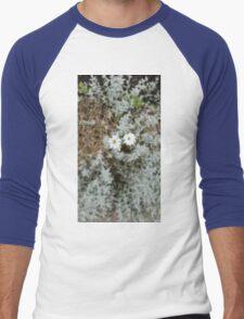 White Flower Morning Men's Baseball ¾ T-Shirt