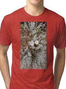 White Flower Morning Tri-blend T-Shirt