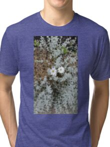 White Flower Morning Tri-blend T-Shirt