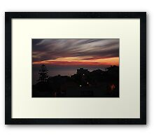 Air brushes Framed Print