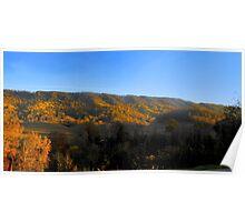 West Virginia Hills Poster