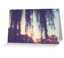 wander, sunset Greeting Card