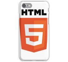 HTML 5 iPhone Case/Skin