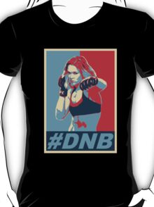 Fight DNB - Poster style T-Shirt