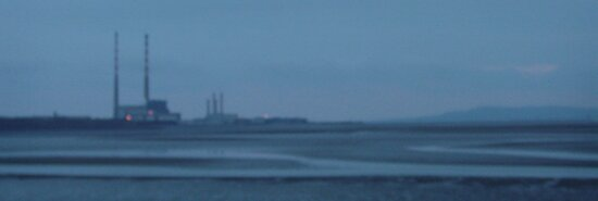 sandymount strand on a winters evening by nialloc