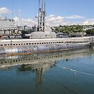 USS Lionfish (SS-298) Battleship Cove Fall River,  MA by Rebecca Bryson