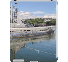 USS Lionfish (SS-298) Battleship Cove Fall River,  MA iPad Case/Skin