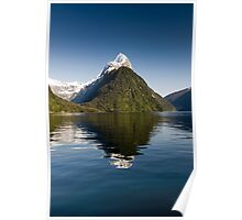 Beautiful Day in Milford Sound Poster