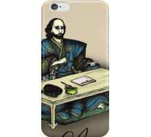 Samurai Shakespeare iPhone Case/Skin