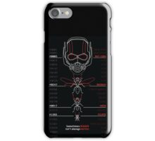 Ant-Man Team Roster Design iPhone Case/Skin