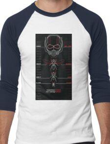 Ant-Man Team Roster Design Men's Baseball ¾ T-Shirt