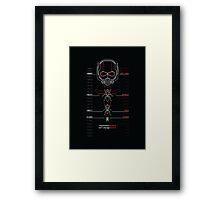 Ant-Man Team Roster Design Framed Print