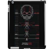Ant-Man Team Roster Design iPad Case/Skin