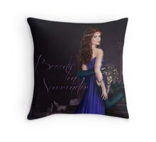 Beauty In Surrender Throw Pillow