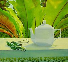 Morning Tea, oil on canvas, 2006. by fiona vermeeren