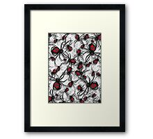 Black Widow Nest Framed Print