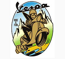 Vespa Ride and Fun Unisex T-Shirt