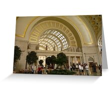 Union Station, Washington DC Greeting Card