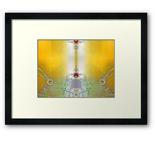 'Living in the Light {incoming signal}' Framed Print