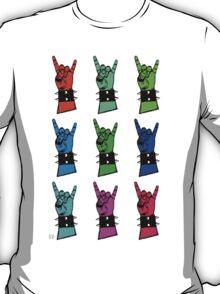 Warhol style metal horns T-Shirt