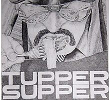 Tupper Supper Poster Detail Photographic Print