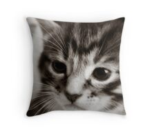 Behind the cuteness there is a story.... Throw Pillow