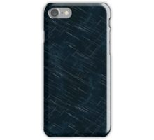 Midnight Blue Scratches iPhone Case/Skin