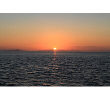 Sunset - Whitsunday Islands, Australia Photographic Print