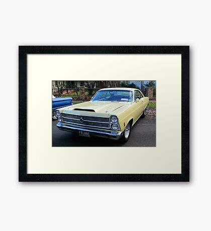 1966 Ford Fairlane GTA Big Block Framed Print