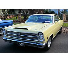 1966 Ford Fairlane GTA Big Block Photographic Print