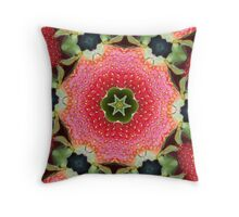 Strawberry Delight Throw Pillow