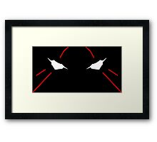 neon genesis evangelion eva eyes anime manga shirt Framed Print