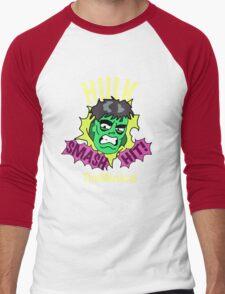 Rick and Morty // Hulk The Musical Men's Baseball ¾ T-Shirt