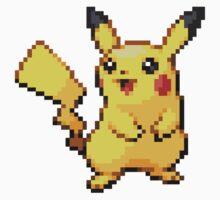 Pixelated Pikachu Baby Tee