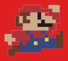 8-bit Mario Kids Tee