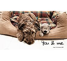 You and me Photographic Print